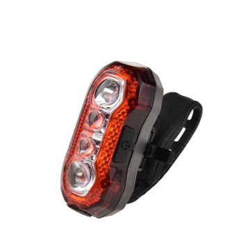 Bright Bicycle Rear Cycling Safety Zaklamp