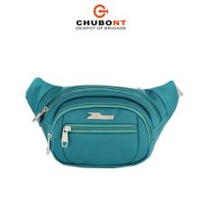 Chubont Waterproof Simplicity Polyester Waist Bag Messenger Bag