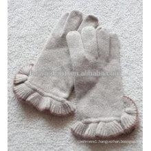 2014 Hot sale fashion ladies warm winter cashmere gloves