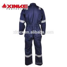 Ropa antiestática ignífuga de nylon de algodón para el trabajador