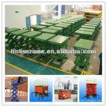Plate-forme élévatrice hydraulique pour le levage du nettoyage des marchandises / des fenêtres