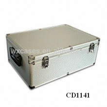 high quality&strong 630 CD disks aluminum CD case wholesales from China manufacturer