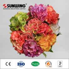 Italy Rose Bouquet 8 cm Diameter Artificial Flower Arrangements
