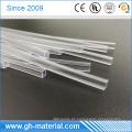 Professionelle hohe Reißfestigkeit klar PVC Vierkantrohr Fabrik