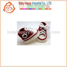 Chaussures habillées à la main en crochet