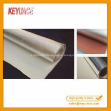 Tissu de fibre de verre de papier d'aluminium résistant au feu