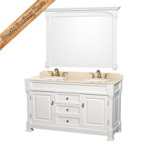 New Design Classic Solid Wood Antique Bathroom Cabinet