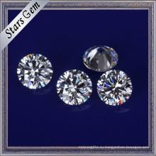 Ааааа высокой ранга Ясный Белый синтетический кубический цирконий камни для ювелирных изделий CZ