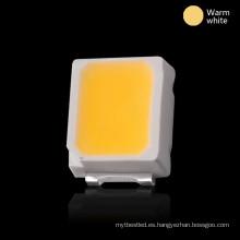 LED 2835, usado para indicador óptico, tubo LED, bombilla, iluminación automática, etc.