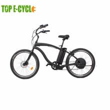 Classic pedelec big power beach cruiser electric 48V electric beach cruiser bicycle for sale