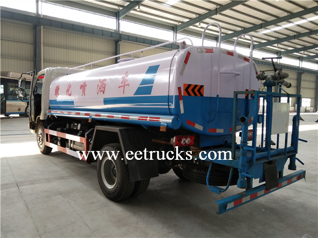 Sprinkling Water Tank Trucks