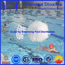 Best Water Chemicals Swimming Pool Dioxyde de chlore pour le traitement de l'eau de piscine