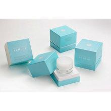 Kosmetischer Kasten / Fach bilden Kasten / Papierkosmetik-Kasten / PVC-Fenster-Kosmetik-Kasten