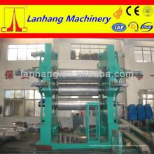 XY-4L máquina de calandra de borracha de 4 rolos
