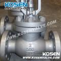 По API 600&602 Косен литые и кованые стальные Глобус Клапан