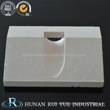 Tablero de cerámica refractario de alta resistencia de cerámica del tablero