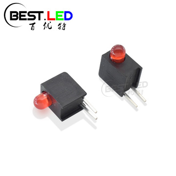 3mm Red Diffused LED Circuit Board Indicator