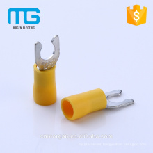 LSVL series 1.5mm2 blue insulated locking type spade terminals ,spade terminal lugs with AWG 22-16, CE approval