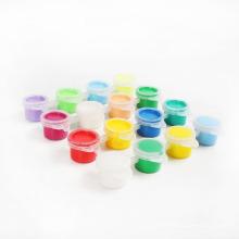 Sechsfarben-Wasserfarben