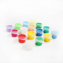 pinturas de agua de seis colores