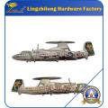 Embalaje de la moneda Moneda militar del buque de guerra del embalaje