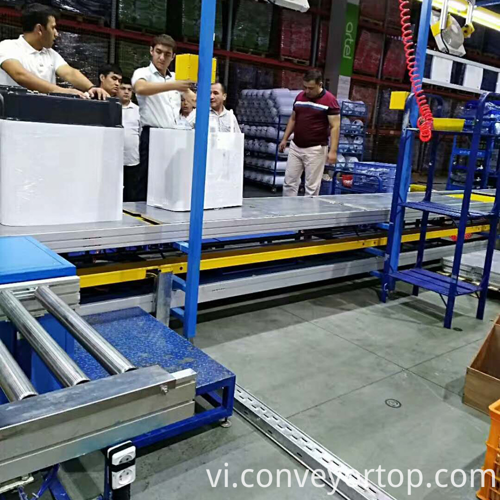Slat Chain Plate Conveyor Systems