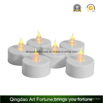 Bougies Tealight LED sans fumée pour mariage / fête blanche chaude