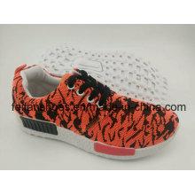 Самая последняя Конструкция холст инъекции обувь, Мужская спортивная обувь с подошвой Comfortatble (ffst, содержащие-001)