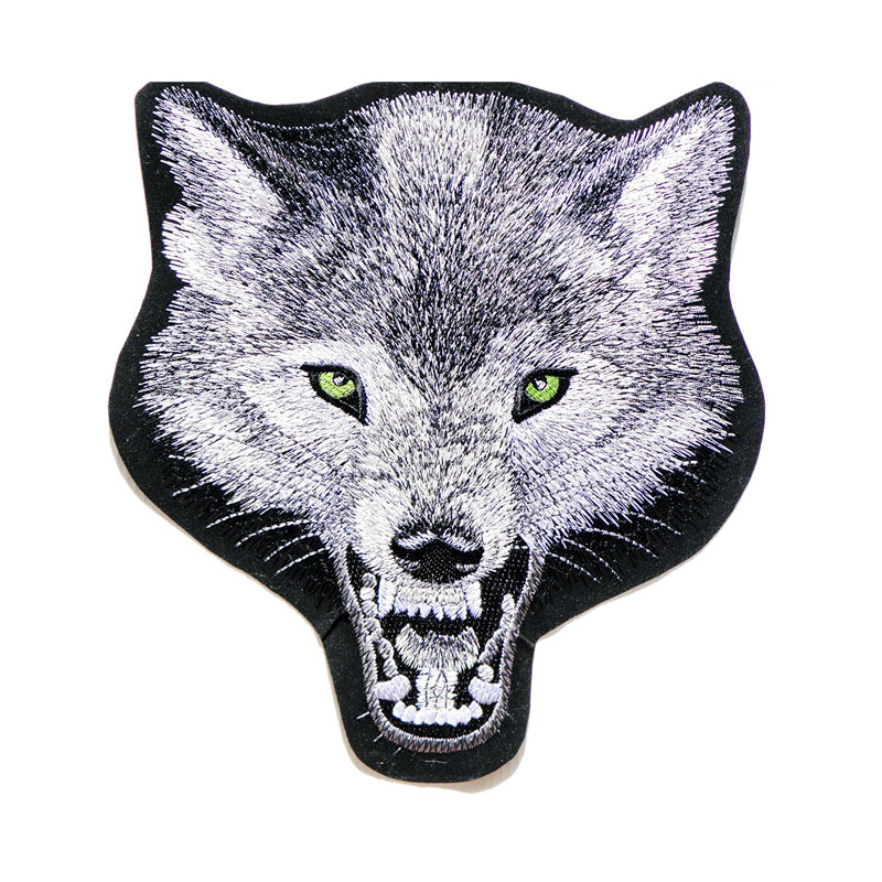 Big Jumbo Large Wolf Fox Dog Patch