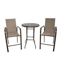 Outdoor-Möbel 3pc Schleuder Bar Satz