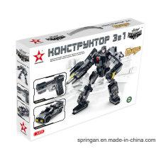 "Robotech Series Designer 3 em 1 ""Steel Scout"" Blocos Brinquedos"