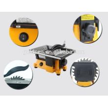 "100mm 4 ""90W Power Cutting Mini Saw Portátil Mini Mesa elétrica viu"