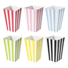 Mini Popcorn Boxes Colorful Party Paper Favor Bag Candy Snack Great for movie night or movie party theme by Party Supplies
