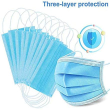 Face Mask Medical Facial Dust Disposable 3 Ply Mask