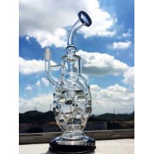 Feberge Glas Wasserpfeife Rauchen Top Verkaufen Recycling Glas Wasserpfeifen Öl Rigs 14mm gemeinsame Rauchen Rohr