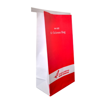 Kundenspezifischer Druck Logo Aviation sickness paper bag
