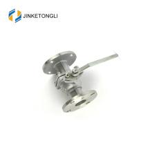 JKTLFB016 flange cf8m 1000wog Válvula de esfera de aço inoxidável de água de 2 peças