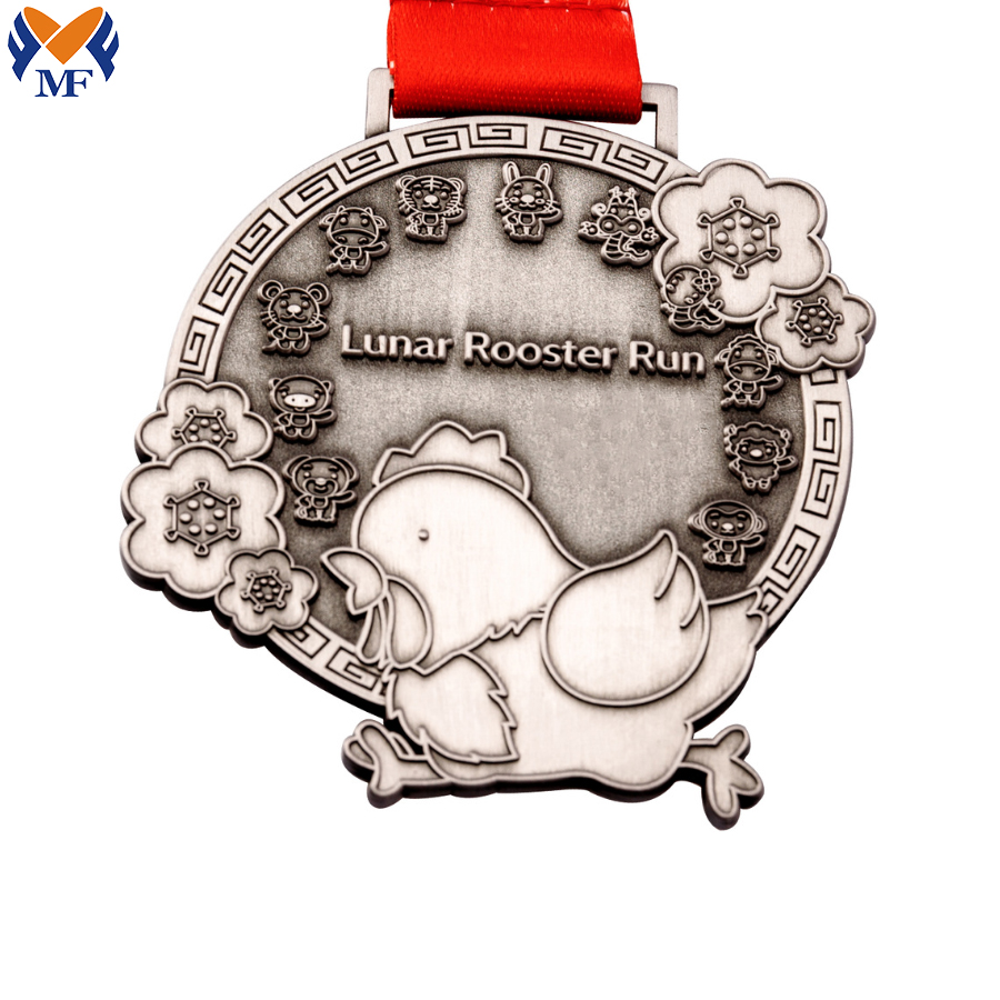 Custom Award Chicken Medals