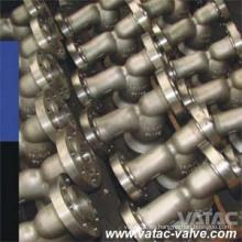 Pantalla de acero inoxidable A216 Wcb y Gg25 y A105 (SS304 / SS316 / SS304L / SS316L) Filtro Y