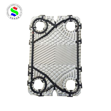 Stainless steel TS6 heat exchanger plate
