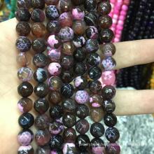 Wholesale 10mm faceted natural bulk semi precious gemstone stone beads