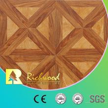Plancher en bois stratifié insonorisant de chêne de planche de vinyle de ménage 12.3mm