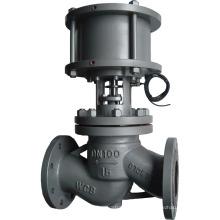 válvula de controle do globo do atuador pneumático de alta qualidade com baixo preço