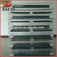 6 Layers Automatic Poultry Feeder Quail Farm Cage For Sale