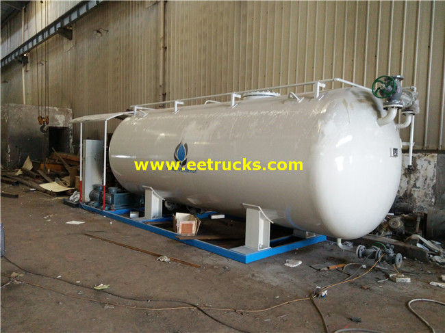20000L LPG Skid-mounted Filling Plants