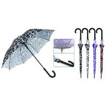 Water Ripple Print Fiberglass Windproof Umbrella (YS-SM23083907R)