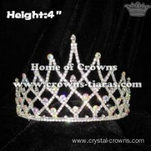 Unique Crystal Wholesale Queen Crowns With AB Diamonds