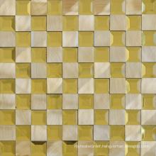 Modern Design TV Background Decorative Aluminum Mosaic Tile