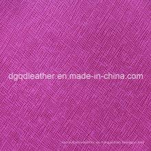 Cuero de sofá de alta resistencia a arañazos (QDL-50310)