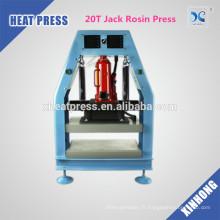20T Jack FJXHB5-N1 Hydraulique et Pneumatique Rosin Heat Press à vendre